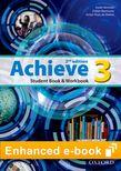 Achieve Level 3 Student Book & Workbook e-book cover