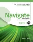 Navigate A1 Beginner Coursebook with DVD and Oxford Online Skills Program cover