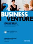 Business Venture 2 Pre-Intermediate Student's Book Pack (Student's Book + CD) cover