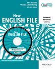 New English File Advanced Workbook with MultiROM Pack cover