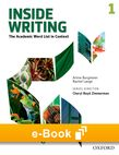 Inside Writing Level 1 e-book cover