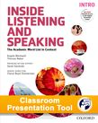Inside Listening and Speaking Intro Classroom Presentation Tool cover