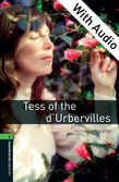 Oxford Bookworms Library Level 6: Tess of the d'Urbervilles e-book with audio cover