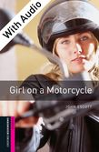 Oxford Bookworms Library Starter Level: Girl on a Motorcycle e-book with audio cover