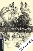 Oxford Bookworms Library Level 4: Gulliver's Travels e-book with audio cover
