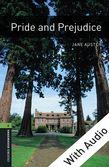 Oxford Bookworms Library Level 6: Pride and Prejudice e-book with audio cover