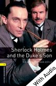 Oxford Bookworms Library Level 1: Sherlock Holmes and the Duke's Son e-book with audio cover