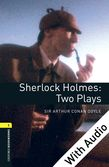 Oxford Bookworms Library Level 1: Sherlock Holmes: Two Plays e-book with audio cover