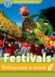 Oxford Read and Discover Level 3 Festivals Around the World e-book cover