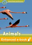 Oxford Read and Discover Level 3 Animals in the Air e-book cover
