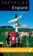 Oxford Bookworms Library Factfiles Level 1: England e-book cover