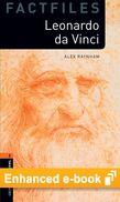 Oxford Bookworms Library Factfiles Level 2: Leonardo Da Vinci e-book cover