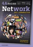Network 4 Multi-Pack A: Student Book/Workbook Split Edition cover