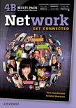 Network 4 Multi-Pack B: Student Book/Workbook Split Edition cover
