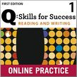 Q Skills for Success Reading and Writing 1 Student Online Practice cover