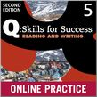 Q Skills for Success Level 5 Reading & Writing Student Online Practice cover