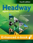New Headway Beginner A1 Student's Book e-Book cover