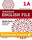 American English File Level 1 e-book (Student Book/Workbook Multi-Pack A) cover