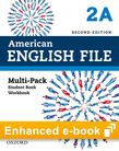 American English File Level 2 e-book (Student Book/Workbook Multi-Pack A) cover