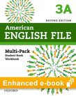 American English File Level 3 e-book (Student Book/Workbook Multi-Pack A) cover