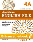 American English File Level 4 e-book (Student Book/Workbook Multi-Pack A) cover