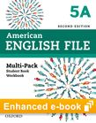 American English File Level 5 e-book (Student Book/Workbook Multi-Pack A) cover