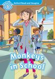 Oxford Read and Imagine Level 1: Monkeys in School cover