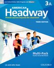 American Headway Three Multi-Pack A with Online Skills and iChecker cover