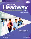 American Headway Four Multi-Pack B with Online Skills and iChecker cover