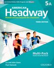 American Headway Five Multi-Pack A with Online Skills and iChecker cover
