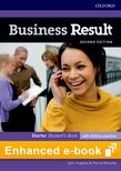 Business Result Starter Student's Book e-Book cover