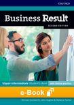 Business Result Upper-Intermediate Student's Book e-Book cover