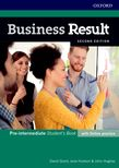 Business Result Second Edition Pre-intermediate
