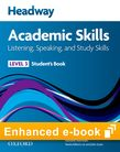 Headway Academic Skills 3 Listening, Speaking and Study Skills e-book cover