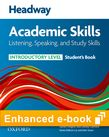 Headway Academic Skills Introductory Listening, Speaking and Study Skills e-book cover