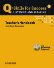 Q Skills for Success Listening and Speaking 1 Teacher's Book with Testing Program CD-ROM cover