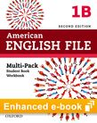 American English File Level 1 e-book (Student Book/Workbook Multi-Pack B) cover