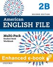 American English File Level 2 e-book (Student Book/Workbook Multi-Pack B) cover