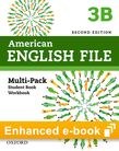 American English File Level 3 e-book (Student Book/Workbook Multi-Pack B) cover