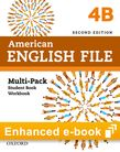 American English File Level 4 e-book (Student Book/Workbook Multi-Pack B) cover