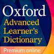 Oxford Advanced Learner's Dictionary premium online (1 year's access) cover