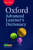 Oxford Advanced Learner's Dictionary -9th