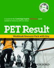PET Result: Printed Workbook Resource Pack with Key cover