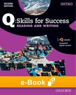 Q Skills for Success Intro Level Reading & Writing e-book cover