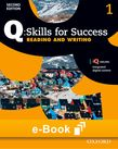 Q Skills for Success Level 1 Reading & Writing e-book cover