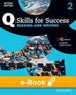 Q Skills for Success Level 2 Reading & Writing e-book cover