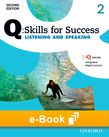 Q Skills for Success Level 2 Listening & Speaking e-book cover