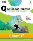 Q Skills for Success Level 3 Listening & Speaking e-book cover