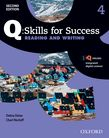 Q Skills for Success Level 4 Reading & Writing Student e-book with iQ Online cover