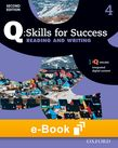 Q Skills for Success Level 4 Reading & Writing e-book cover